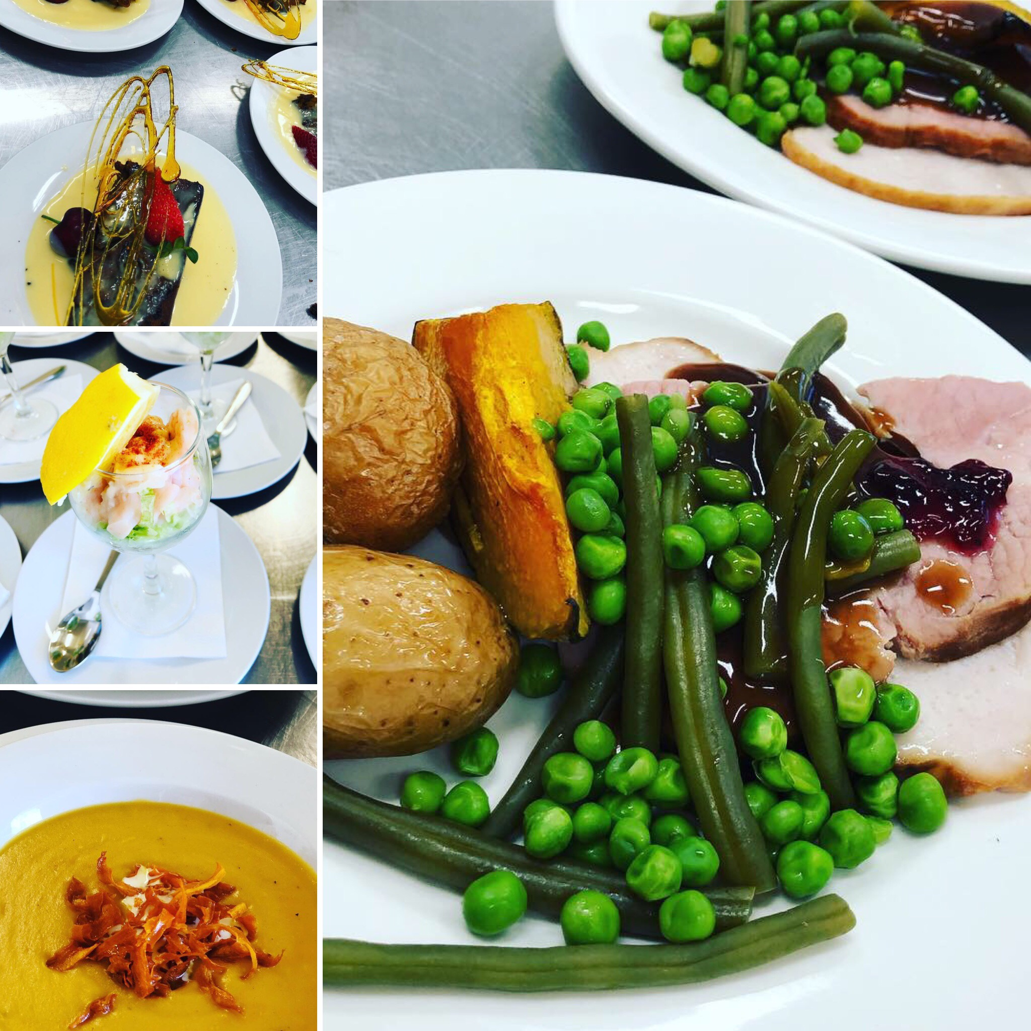 3 Course Meal Catering